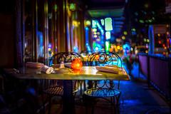 Late night dinner (Arutemu) Tags: america american a7r us usa urban unitedstates night nighttime nightscape nyc ny newyork nightshot newyorkcity nuevayork nightview nightfall nightstreet manhattan mirrorless manualfocus city cityscape ciudad citylights nocturnal nokton view ville vista voigtlander avenue