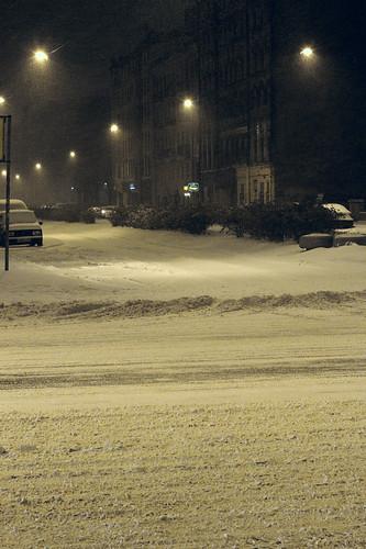 SPb first snow ©  FAndrey