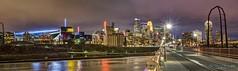 Minneapolis! (Sue.Ann) Tags: minnesota minneapolis mississippiriver mississippi downtown downtownminneapolis usbankstadium stonearchbridge