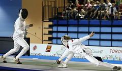 PENTATLN ESGRIMA (skyrosredes) Tags: sport sportsevent panamericangames toronto ontario canad