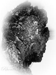 Mother Nature's Cameo (rhonda_lansky) Tags: cameo mothernature thecameo wood knot tree silhouette blackandwhite vignette face faces creations formations nature design abstractoutdoors outdoor earth expressive lansky visual plant foliage rhonda surreal pattern organic texture poems shortstories storys writing fantasy