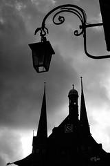 2016 Rathaus Wernigerode Silhouette (jeho75) Tags: sony ilce 7m2 minolta rokkor f12 schwarz weiss black white silhouette rathaus wernigerode townhall harz