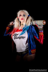 Daddy's Little Monster (dgwphotography) Tags: cosplay nycc nycc2016 newyorkcomiccon nikond600 nikoncls harleyquinn dccomics dc 50mm18g