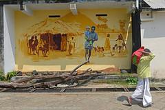 LIFE IN FRAMES (GOPAN G. NAIR [ GOPS Photography ]) Tags: gopsorg gops gopsphotography gopangnair gopan photography frame life india street photo graffiti