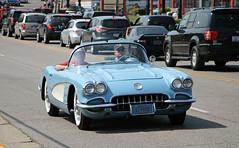 1959-1960 Chevrolet Corvette (SPV Automotive) Tags: 1959 1960 chevrolet corvette c1 roadster convertible classic sports car blue