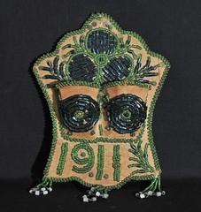 Iroquois Wall Pocket Antique Beadwork (Teyacapan) Tags: wallpocket antique iroquois beads beadwork nativeamerican