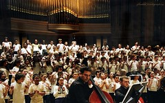 Kids activities in music and art, Brussels - Children choir in Bozar concert hall (jackfre 2) Tags: children choir belgium brussels bozar music art