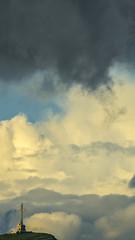 Two Worlds (Cozmin.Preda) Tags: sky clouds cross caraiman romania crucea eroilor landscape art ngc mountains tamron teamsony