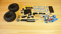 How to Build a Terrain Car Platform (MOC) (hajdekr) Tags: car platform 4x4 differential differentiallock motor xlmotor batterybox pf powerfunctions functions remotecontrol control mobil bluetooth sbrick smartbrick lego legotechnic moc myowncreation terrain suspension shockabsorber howto tip help manual tuto tutorial assemblyinstructions instruction instructions assembly buildingguide buildingblocks rc remote