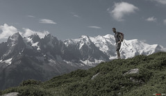 Mountain View... (bent inge) Tags: france chamonix aguilledumidi montblanc bentingeask hiking mountainview july 2016 nikond810 traveling