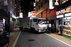 Day 323/366 : Yodobashi Camera (hidesax) Tags: 323366 yodobashicamera  truck street shops night shinjuku tokyo japan hidesax leica x vario 366project2016 366project 365project