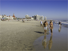 Coronado Beach Life II (Stephen Reed) Tags: coronado sandiego california usa pacific ocean d7000 nikon lightroomcc photoshopcc bikini girl