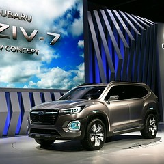 Subaru unveiled a concept family-hauling SUV -- its largest vehicle yet -- The Viziv-7 concept lays the groundwork for a seven- or eight passenger family hauler Subaru expects to go on sale in the first half of 2019. http://usat.ly/2g5iKMw #Subaru #SUV #b (hanniballecter4) Tags: bestbuyet2000 subaru flikr la autoshow losangelesautoshow conceptcar suv ebay ebaymotors viziv