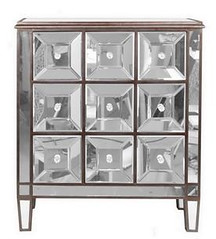 "8364 SQUARE PATTERN MIRRORED NIGHTSTAND • <a style=""font-size:0.8em;"" href=""http://www.flickr.com/photos/43749930@N04/6919984880/"" target=""_blank"">View on Flickr</a>"