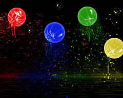 coloured balls (Palmsgb) Tags: blue red green yellow photoshop balls coloured