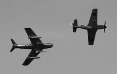 The RAAF Museum Sabre and Temora's Mustang (Owen65) Tags: photoshop raw nef sabre mustang cac raaf gaf raafmuseum temora richboystoys royalaustralianairforcemuseum owen65 owentheworld
