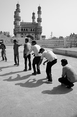Evolution...in shadow's (Rajesh_India) Tags: street india sony hyderabad
