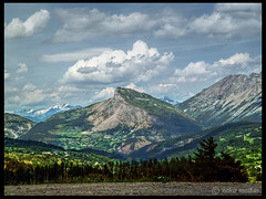 South alps mountains (ooka medias - 900K views : TY !) Tags: road cliff snow france mountains alps tree green pine clouds alpes rocks shadows snowy south hill vert route valley nuages sapin sud falaises montagnes vallee rocailleux ombragee