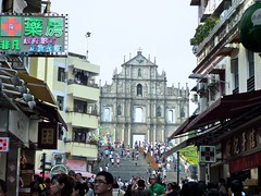 Macau Ruins of St. Paul (wbayer.com) Tags: china photography macau fishermanswarf photographies ruinsofstpaul mercadores casinovenetian wbayercom wernerbayer