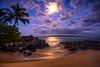 Moonlight (mojo2u) Tags: ocean beach hawaii cove secretbeach maui moonlight makena weddingbeach nikon2470mm nikond700