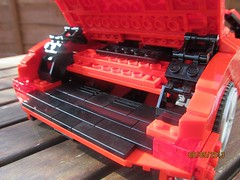 Lego Ferrari California (Harry3099) Tags: california roof red car blog lego convertible ferrari v8 folding the