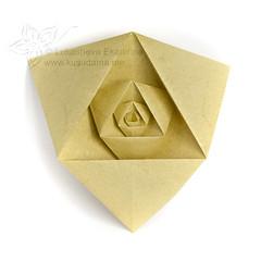 Fractal (_Ekaterina) Tags: yellow paper origami modular paperfolding modularorigami kusudama unitorigami lukasheva ekaterinalukasheva