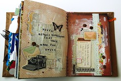 Smashbook pages 3 (Jennibellie) Tags: art book sketch smash artist pages ephemera page scrap artjournal smashbook