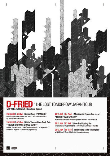 D-FRIED from Barcelona Japan Tour