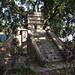 La ricostruzione di un tempio maya nel parque la Concordia