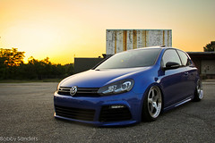 Chris Weyer's MK6 Golf R (BobbySanders22) Tags: blue atlanta sunset vw canon golf volkswagen roc photography european photoshoot euro atl air r hatch bags flush apr slammed swoops stance airbags bagged mkvi mk6 fitment 60d hardlines sowo afunnysmell stanceworks rotiform accuair canibeat stancenation instagram bagriders baggeddaily iknowchrisweyer
