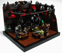 Hag's Tavern (Julius No) Tags: black port lego tavern wrath falcons historica tercel hags fendrel