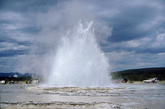 Great Fountain Geyser (Chief Bwana) Tags: 35mm yellowstonenationalpark yellowstone wyoming geyser nationalparks geothermal wy greatfountaingeyser psa104 chiefbwana
