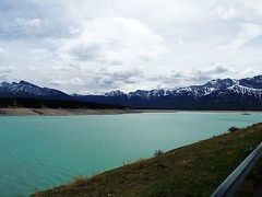 David Thompson Highway Country Alberta (kevinmklerks) Tags: park camping house mountain canada david mountains water spring highway jasper pass rocky 11 columbia abraham reservoir resort national alberta banff british campground thompson spring4