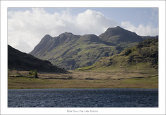 Blea Tarn (May 2013 #1) (Lazlo Woodbine) Tags: england mountain lake water landscape countryside pentax britain lakedistrict may cumbria 1855mm tarn thelakes langdales thelakedistrict bleatarn k7 langdalepikes littlelangdale greatlangdale 2013