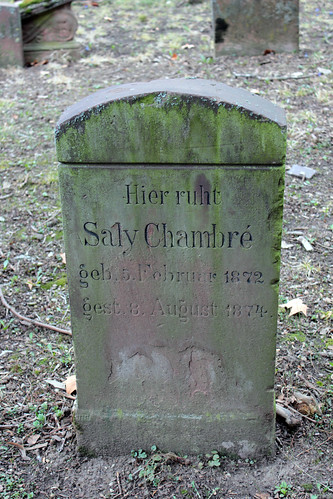 Grabstelle Saly Chambré (1872-1874)