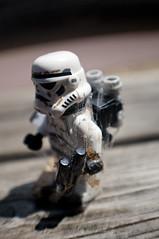 Time goes by (Trashersbp + Clairelb) Tags: park parque trooper star spider lego web stormtrooper wars sandtrooper