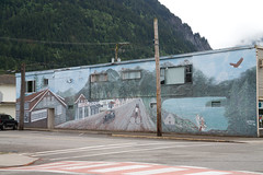 Building Mural_7686 (Mike Head - Jetwashphotos) Tags: canada painting hope artwork mural colorful artist bc britishcolumbia travellers tourists fraserriver earlyyears uppervalley improvements westerncanada hopebc townenhancement hopeearlyyears