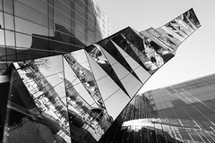 Life is a mirror and will reflect back to the thinker what he thinks into it. (Rober1000x) Tags: barcelona reflection architecture reflections spain arquitectura europa europe espana reflejo 2013