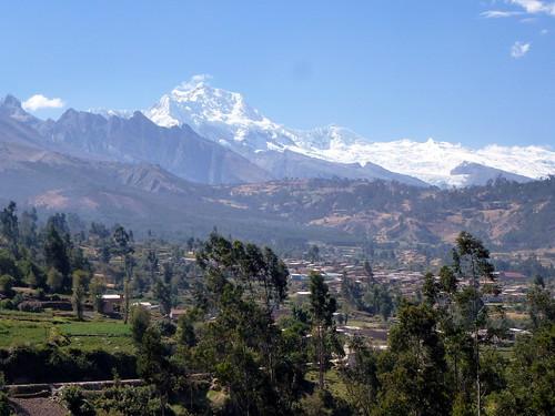 Paysage péruvien au-dessus de Musho vers 3300m