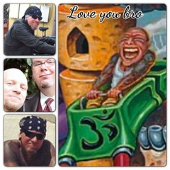 Did my first coaster painting for my bro Dave back in 2002, he loved art and tattoos and was always an inspiration to me, miss you my brother #davearcher