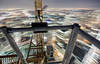 A momentary blur (tomms) Tags: above city urban toronto motion blur night lights high downtown wind crane vertigo rooftopping