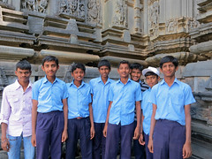 109 (rufusruffin) Tags: people india playing kids children temple culture hassan belur chennakesava