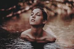 Ashy river (Alessio Albi) Tags: red portrait lake water monochrome river eyes nikon emotion 14 50 ritratto d600