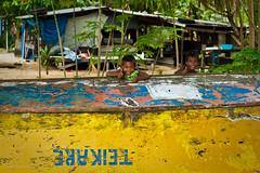 Kiribati locals having some fun (Matte Birchler) Tags: people boat locals places kiribati matte birchler
