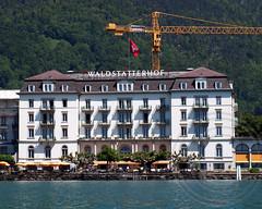 Hotel Waldsttterhof on Lake Lucerne, Brunnen, Switzerland (jag9889) Tags: lake hotel schweiz switzerland see suisse suiza swiss brunnen paddle luzern kayaking svizzera lucerne ch vierwaldstttersee uri schwyz svizra urner 2013 seehotel waldsttterhof jag9889
