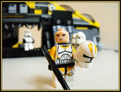 Commander (Johnny-boi) Tags: trooper yellow star lego arc stealth wars minifig clone officer figs minifigure battalion