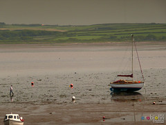 Pembrokeshire June 2013 - 111 - Old Point House at Angle (marmaset) Tags: beach rural village angle pembrokeshire pembs