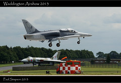 Coming in to land (Paul Simpson Photography) Tags: plane airplane wings aircraft aeroplane lincolnshire landing vulcan photosof imageof photosfrom photoof imagesof sonya77 paulsimpsonphotography rafwaddington2013