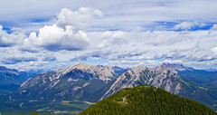 As Far As the Eye can See (Fire Fly5) Tags: beautiful clouds scenery view mtn banff sulphur mountanis