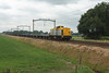 Shunter 203 102 + Containerdraagwagens - Hulten - 20130712 (Cees_1251) Tags: diesel v100 hulten gz shunter tbr 203102 containerwagens onbeladen